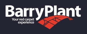 Barry Plant Logo BLUE BACKGROUND