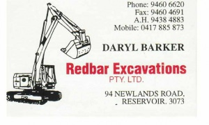 Redbar Excavations